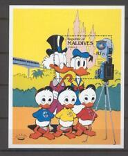 Disney Maldives 1984 Donald Duck's Family Portaits MS MNH