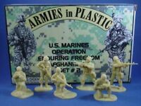 ARMIES IN PLASTIC 5579 MODERN WAR US MARINES AFGHANISTAN 18 Figures FREE SHIP