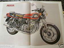 A048-POSTER SUZUKI GS1000 DOHC OPEN MOTORCYCLE 1979 MOTORRAD