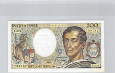 France 200 Francs Montesquieu 1984 P.023 n° 0453799782 Pick 155a