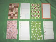 Compact 8 Month Undated Refill Lot Angela Adams Fill Planner Franklin Covey