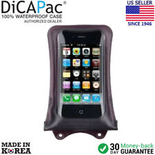 DicaPac WP-i10 Waterproof  Case for iPhone 2G, 3G, 3Gs, 4, 4S, 5S (Black)