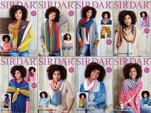 Sirdar Colourwheel DK Patterns 8027-8034  OUR PRICE £2.75