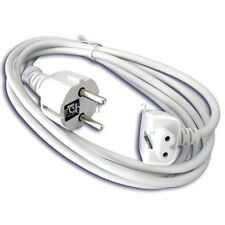 "EU extension power cord cable for Apple Charger Macbook MagSafe 13"" 15"" 17""-MC1"