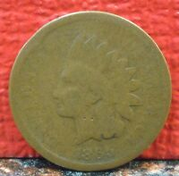 Nice Collectable Better Date 1865 Plain 5 Indian Head Penny / Cent