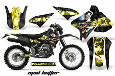 Kawasaki KLX400 Suzuki DRZ400 Graphics Kit Dirt Bike Wrap MX Decals 00-16 MAD Y
