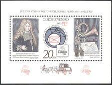 "Czechoslovakia 1986 ""Praga '88""/StampEx/Posthorn/Letter/Post/mail 1v m/s n41278"