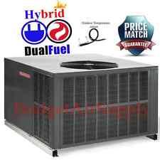 Goodman 2.5 Ton 14 seer Dual Fuel Heat Pump/92k Gas Package Unit GPD1430090M41++