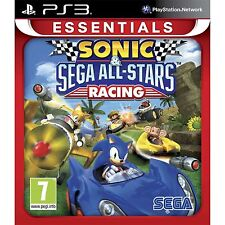 SONIC & SEGA ALL-STARS RACING PER PAL ps3 (nuovo e sigillato)