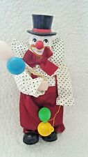 "Musical 10"" Clown With Balloons"