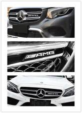 NEW Mercedes Benz AMG Car Front Grille Badge Emblem C E S CLA GLA GLE GLS CLK