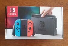 Boite Nintendo Switch V1 (très bon état)
