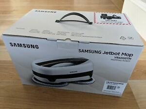 NEW Samsung Jetbot Mop with Dual Spinning Technology in white - VR20T6001MW/AA