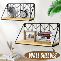Floating Wall Mounted Shelf Display Storage Rack Bookshelf Bookcase Home Decor