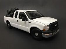 2005 Ford F-350 F350 F-250 White Blank Base Work Truck 1/18 Kodeblake Exclusive