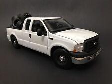 2005 Ford F-350 / F-250 White Blank Base Work Truck 1/18 Kodeblake Exclusive