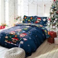 Harry Potter Christmas Charms and Cheer Bedding Duvet Cover & Pillowcase Set