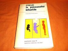 FREUD, LA PSICOANALISI INFANTILE, NEWTON COMPTON ITALIANA