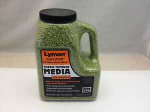 Lyman Turbo Tumbler Cleaning Media Corn Cob Green 2.25 lb 7631307