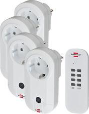 Brennenstuhl Comfort-Line RC CE1 4001 Funkschalt-Set 4 Steckdosen Fernbedienung