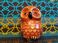 Genuine Pottery Barn Owl Bottle Stopper - New Without Box - No Longer Available