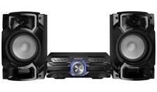 More details for panasonic sc-akx520 650w cd fm bluetooth usb hi-fi stereo system black