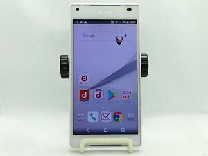 【Unlocked】SONY Xperia Z5 Compact 32GB White SO-02H Android -Smartphone-