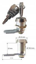 Hebelschloss,Spindschloss ,Möbelschloss Briefkastenschloss Euro-Locks 32 mm
