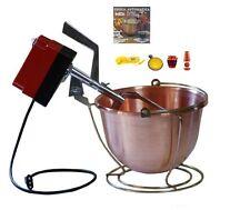 Botta:paiolo elettrico MP(24V) cm.34 (9Lt.) per polenta-marmellate-made in Italy