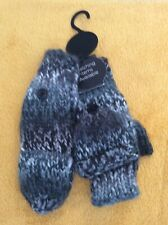 Girls Mittens/Fingerless New With Tags Grey