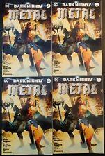 x(4) Dark Nights Metal #1 DC 2017 Forbidden Planet Variant Jet Pack Comics