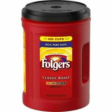 New, Folgers Classic Medium Roast Ground Instant Coffee, 51 oz Can Free Shipping