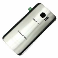 Samsung Galaxy S7 Edge T-Mobile G935T Back Door Glass Camera Cover Silver