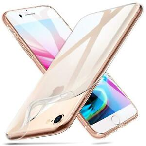 CLEAR CASE For iPhone 12 11 13 Pro Max Mini XR SE 8 7 6 Protector Silicone Cover