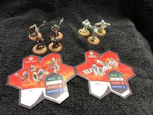HeroScape Figure Sets - 4 Sets