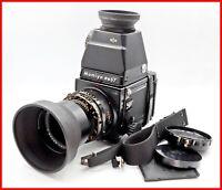 【Opt Mint】 Mamiya RB67 Pro S Sekor C 180mm F4.5 + CDS Finder + 120 F.Back #1316