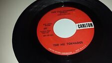 THE NU TORNADOS The Ol Mummers Strut / Lets Have A Party CARLTON 497 PROMO 45 7""