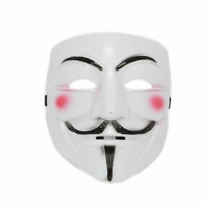 Anonymous Hacker V For Vendetta Guy Halloween Fancy Dress Party Face Mask Fawkes