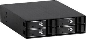 "Aluminum 6G (4 x 2.5"" SAS / SATA HDDs) at (1x5.25"") (Hot-Swap Cage)Backplane NEW"