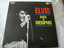 ELVIS BACK IN MEMPHIS VINYL LP ALBUM 1970 RCA VICTOR FROM A JACK TO A KING, VG+
