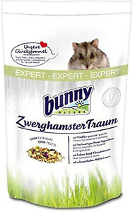 Bunny ZwerghamsterTraum EXPERT Futter für Zwerghamster Hamsterfutter 500 g
