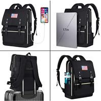 USB Travel Laptop Backpack, Fashion Bookbag Fits up to 15.6 laptop computer bag