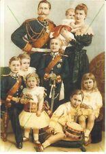 Postcard ROYALTY GERMANY - imperial family Kaiser Wilhelm II in 1894 HUIS DOORN
