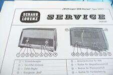 Service Manual-Istruzioni per Schaub-Lorenz MONDO SUPER 500 stereo, 24015