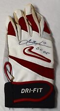 LANCE BERKMAN GAME USED AUTOGRAPHED SIGNED 2005 BATTING GLOVE HOUSTON ASTROS