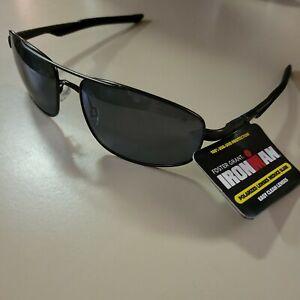 MSRP $24.99 NEW Foster Grant IRONMAN Polarized Sunglasses Tracker 100% UVA / UVB