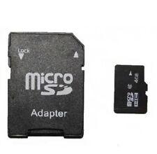 CARTE MicroSDHC 4Go/Gb + Adaptateur CarteSD