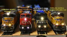 WARM/SUNNY WHITE MONSTER LEDs BY AL MAYO MTH BLI WALTHERS MONSTER MODELS INC.