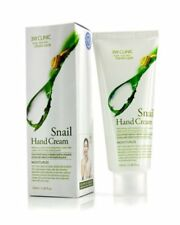 3W CLINIC Moisturizing Snail Hand Cream Made in KOREA 100ml.