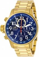Invicta Men's 28744 I-Force Quartz Chronograph Blue Dial Watch